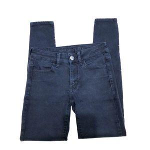 American Eagle Black Next Level Jegging Jeans 2